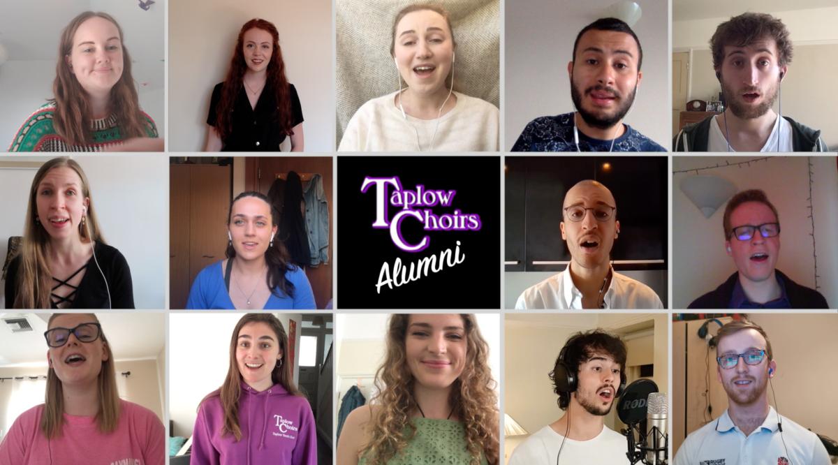 Taplow Choirs alumni: united remotely in lockdown